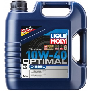 Liqui Moly Optimal Diesel 10W-40, 4л.