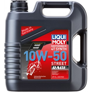 Liqui Moly Racing Synth 4T 10W-50, 4л