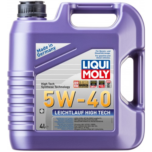 liqui moly leichtlauf high tech 5w 40 4. Black Bedroom Furniture Sets. Home Design Ideas