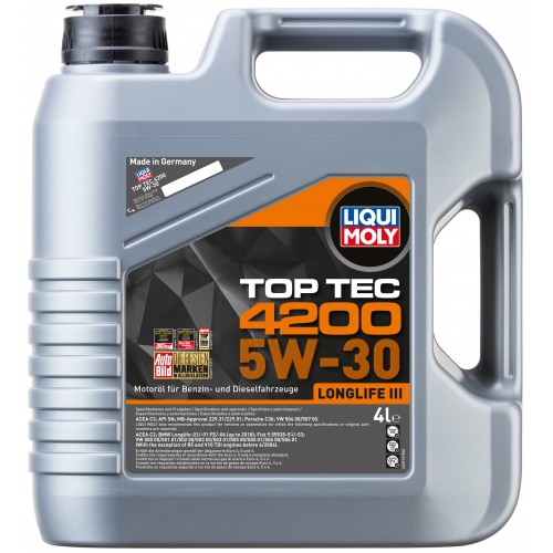 liqui moly top tec 4200 5w 30 4. Black Bedroom Furniture Sets. Home Design Ideas