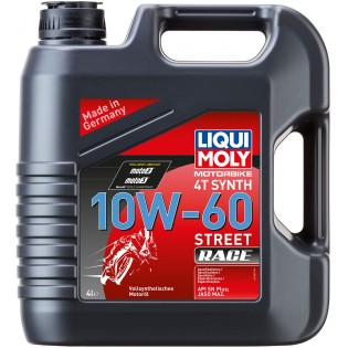 Liqui Moly Racing Synth 4T 10W-60, 5л